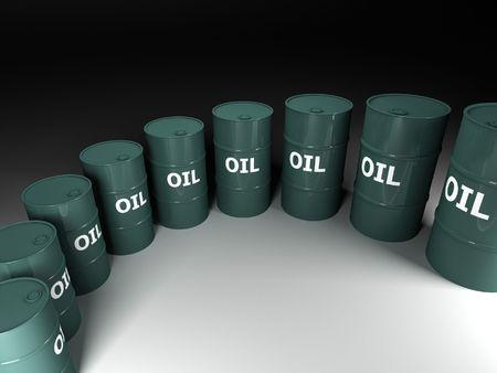fine image of classic barrel oil background photo