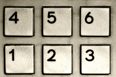 fine image of number calculator closeup background photo