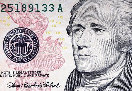 fine image closeup image of  usa dollar background photo