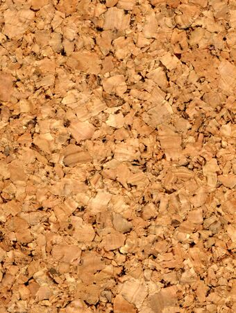 chipboard: fine closeup image of cork texture background