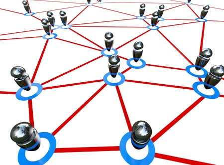 honing: fine 3d image of business global web background