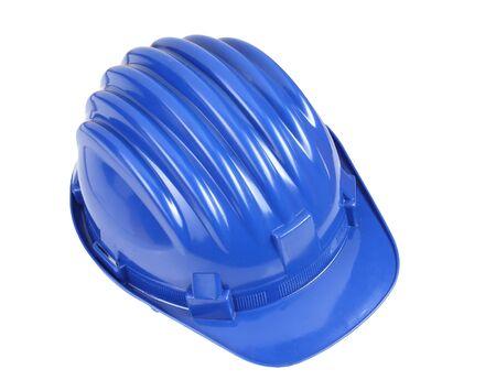 fine detail of classic blue worker helmet Stock Photo - 4030249