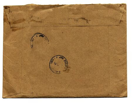 fine isolated image of classic old envelope Stock Photo - 4155586