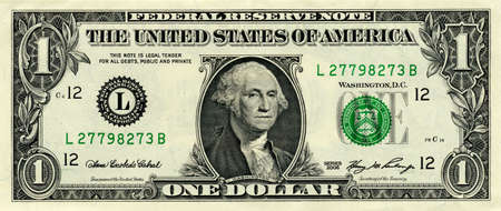 fine close up image of american one dollar background Stock Photo - 4188262