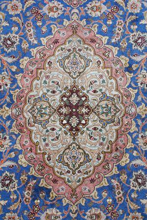 knotting: dettagli del tappeto persiano classico sfondo