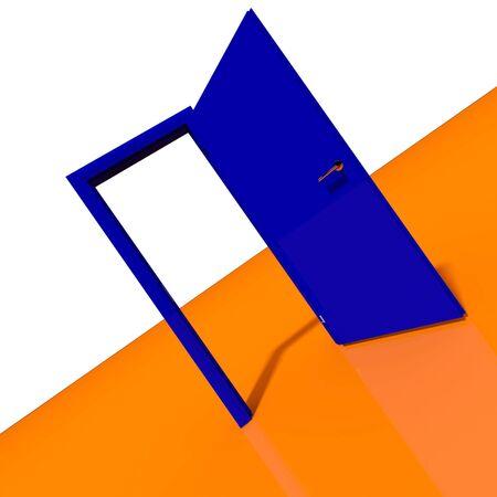 door abstract 3d image background photo