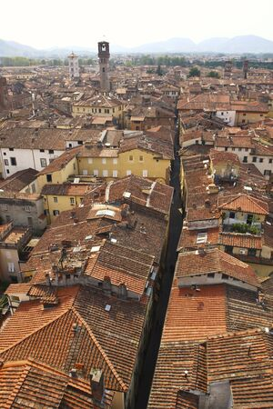 medioeval: lucca, tuscany italy, very famous historic medioeval town