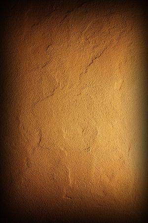 fine image close up of yellow grunge wall background photo