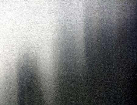 aluminium wallpaper: great image of real brushed metal background