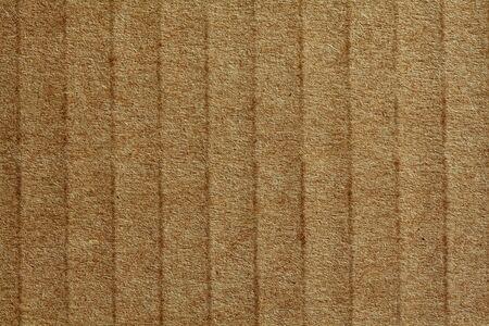 millboard: corrugate cardboard fine image detail closeup background Stock Photo