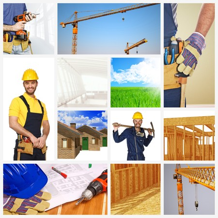 different image of building industry background Stock Photo - 6880627