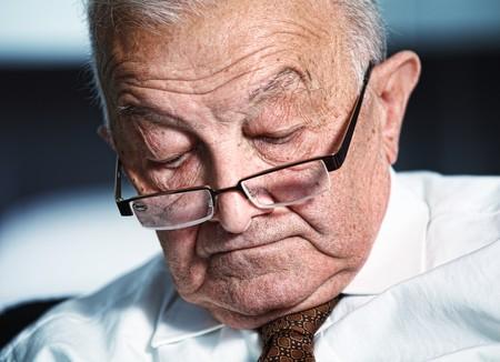 80s adult: fina retrato de dormir anciano cauc�sicos