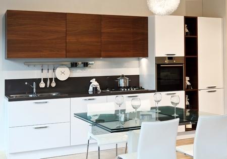 fine image of modern kitchen background Stock Photo - 9853031