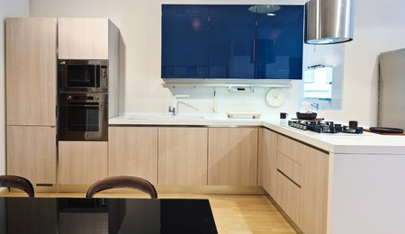fine image of modern kitchen background Stock Photo - 9853030