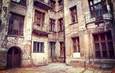 decadent: decadent house in lodz poland Editorial