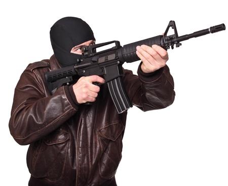 delito: retrato de caucásicos penal en blanco