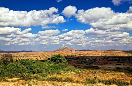 malawi: great  landscape in malawi africa Stock Photo
