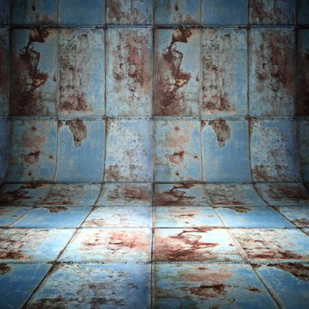 metal plate 3d grunge background photo