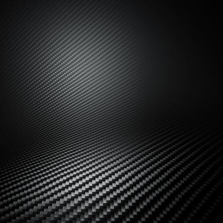 3d carbon: 3d image of carbon fiber background