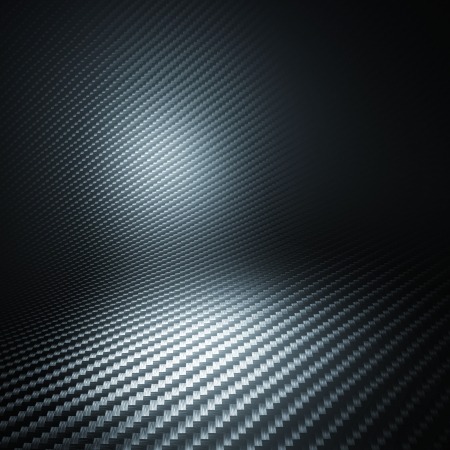 dark fiber: 3d image of carbon fiber background
