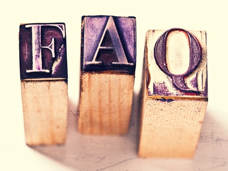 asked: Frequently asked questions rubber stamp
