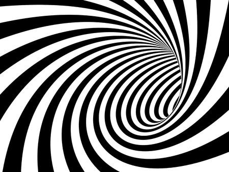 bn: Imagen 3d del t�nel en blanco y negro