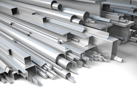 3d image of steel profile