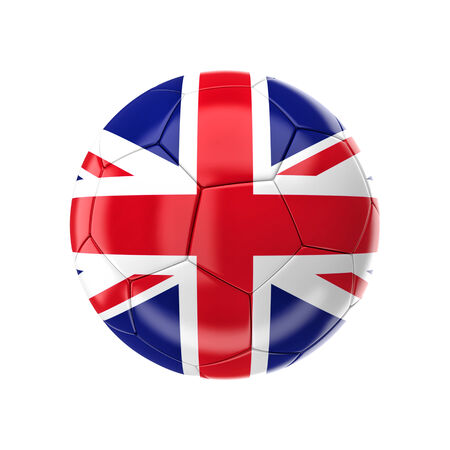 3d image of uk soccer ball photo