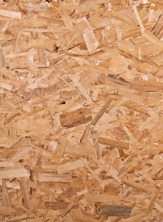 carpentery: detail of osb texture wood background Stock Photo