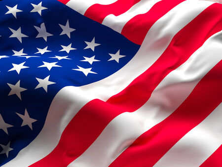 american flags: imagen de la vieja gloria de la bandera americana Foto de archivo