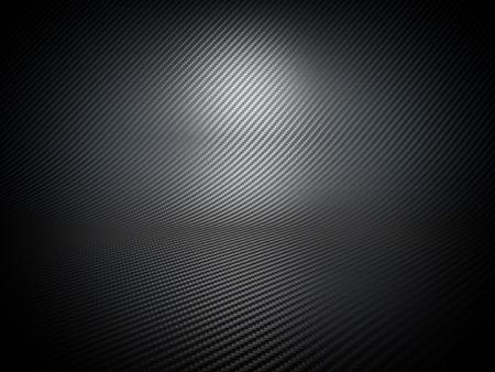 dark fiber: fine carbon fiber background image Stock Photo