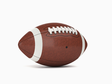 american football background: american football ball 3d background