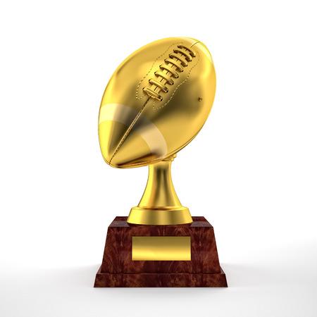 trofeo: 3d trofeo de f�tbol americano