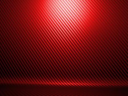 carbon fiber: Fondo de la textura de fibra de carbono de color rojo