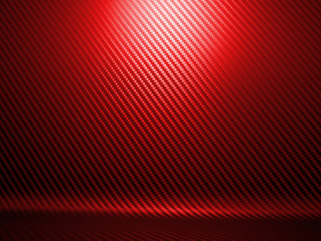 background of red carbon fiber texture
