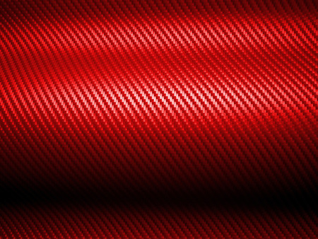 3d image of red carbon fiber texture
