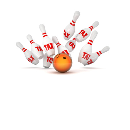 skittle: bowling skittle and tax text background