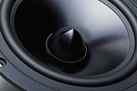 PARLANTE: woofer clásico detalle de fondo de altavoces