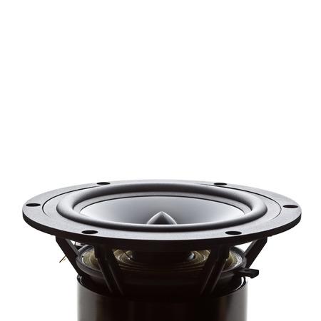 woofer: closeup image of woofer speaker Stock Photo