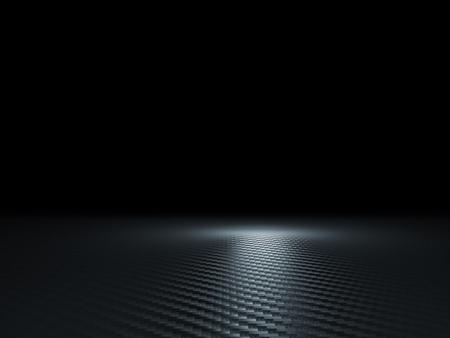 3D-Bild der klassischen Carbon-Textur Standard-Bild - 46058434