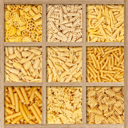 kind: different kind of italian dry pasta