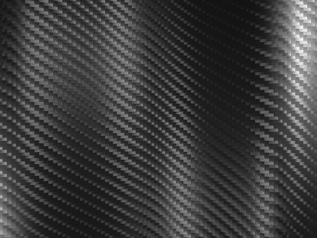 fiber: 3d image of classic carbon fiber texture