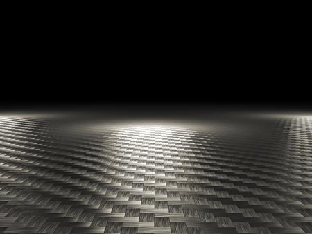 Kohlefaser-Hintergrund 3D-Bild Standard-Bild