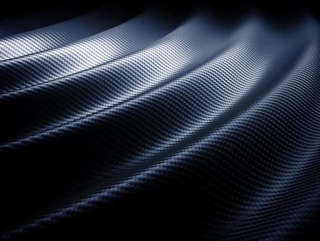 industrial vehicle: 3d image of classic carbon fiber texture