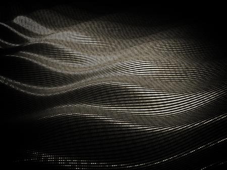 fibre: 3d image of classic carbon fiber texture