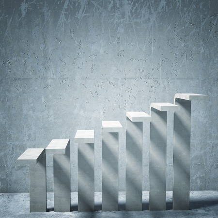 concrete stairs: music background of concrete stair