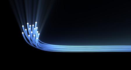 fiberoptics: fiber optics background 3d image