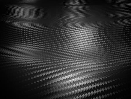 fibra de carbono: fondo de fibra de carbono 3d imagen Foto de archivo