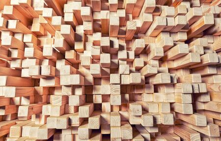 carpentery: background of geometric natural wood