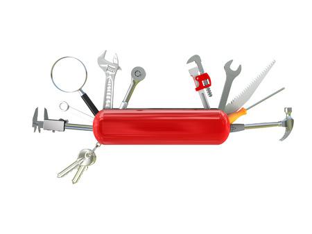 couteau suisse outil multi 3d